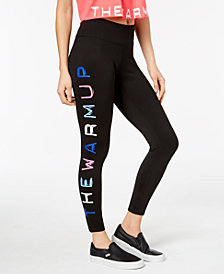 Jessica Simpson The Warm Up Juniors' Logo Yoga Leggings