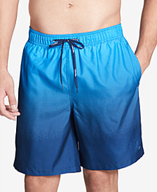 "Calvin Klein Men's Gradient 7"" Swim Trunks"