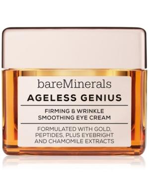 Image of bareMinerals Ageless Genius Firming & Wrinkle Smoothing Eye Cream