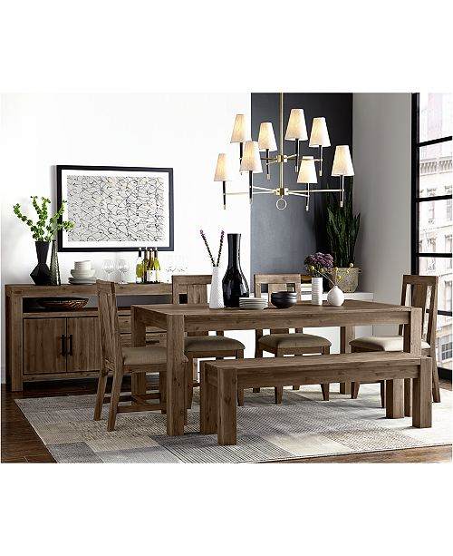 Furniture Canyon Dining Furniture Collection Created For Macy S