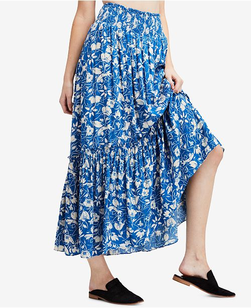 68aa345c9d Free People Way Of The Wind Printed Maxi Skirt & Reviews - Skirts ...