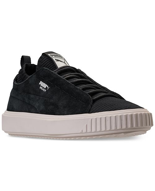 758c777f8c10 Puma Men s Breaker Knit Sunfaded Casual Sneakers from Finish Line ...
