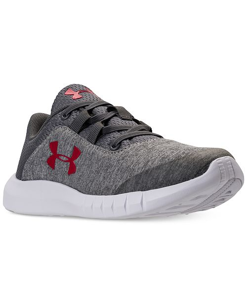 38cb74f06cc9 Under Armour Little Boys  Mojo Athletic Sneakers from Finish Line ...