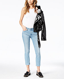 AG Prima Crop Denim - Mid Rise Cigarette Leg Crop