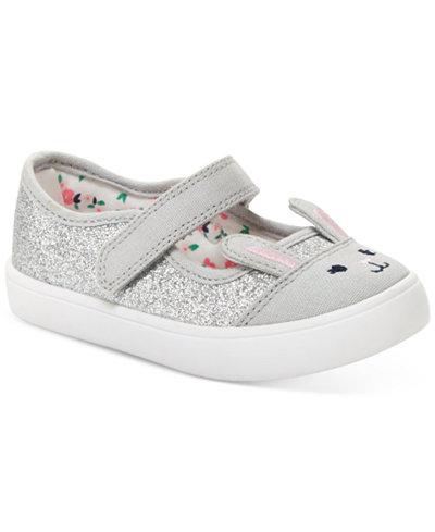 Carter's Genna Bunny Shoes, Toddler & Little Girls (4.5-3)