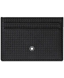 Montblanc Men's Extreme Black Leather Card Case