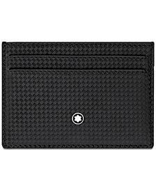 Montblanc Men's Extreme Black Leather Card Case