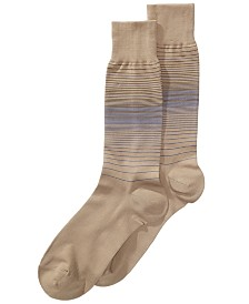 Perry Ellis Striped Dress Socks