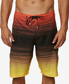 "O'Neill Men's Stretch Ombré Stripe 21"" Board Shorts"