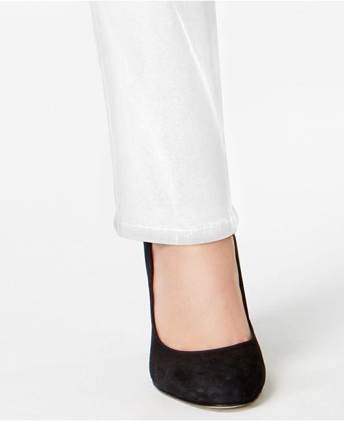 ca2932d4aeb41 ... Style   Co Tummy-Control Straight-Leg Jeans