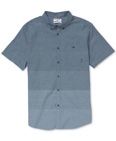 Billabong Men's Faderade Ombré Button-Down Shirt