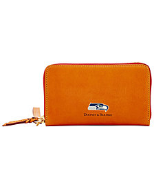 Dooney & Bourke Seattle Seahawks Florentine Zip Around Wallet
