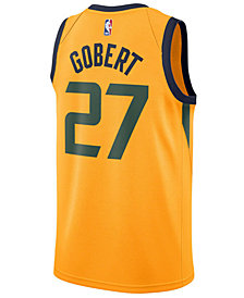 Nike Men's Rudy Gobert Utah Jazz City Swingman Jersey