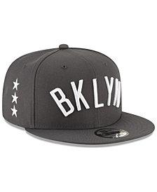 New Era Brooklyn Nets Statement Jersey Hook 9FIFTY Snapback Cap