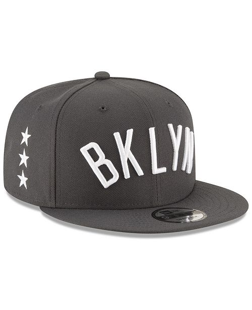 check out 9452d ada09 ... New Era Brooklyn Nets Statement Jersey Hook 9FIFTY Snapback Cap ...