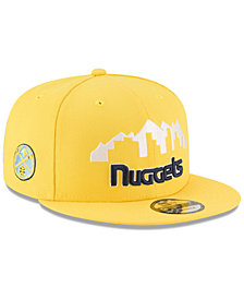 New Era Denver Nuggets Statement Jersey Hook 9FIFTY Snapback Cap