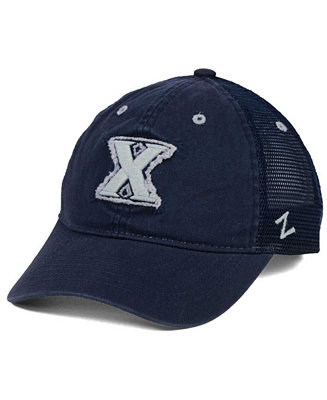 6ccb796ce9421 ... closeout zephyr xavier musketeers homecoming cap sports fan shop by  lids men macys 19e19 c9446