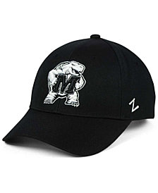 Zephyr Maryland Terrapins Black & White Competitor Cap