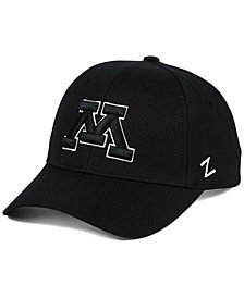Zephyr Minnesota Golden Gophers Black & White Competitor Cap