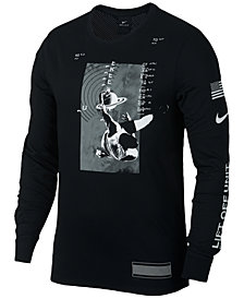 Nike Men's Dri-FIT Long-Sleeve Basketball Graphic T-Shirt