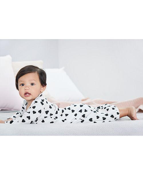 Carter\'s 2-Pk. Hearts & Love Cotton Sleeper Gowns, Baby Girls ...