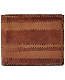 Fossil Men's Daniel Leather Flip ID Bifold Wallet