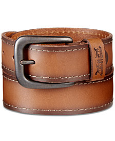 Levi's® Men's Stitched Leather Belt