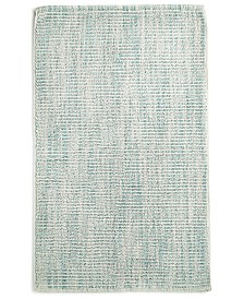 """LAST ACT! Hotel Collection Fashion 22"""" x 36"""" Textured Flat-Weave Bath Rug, Created for Macy's"""