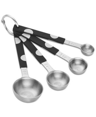 new york All in Good Taste Deco Dot Measuring Spoon Set