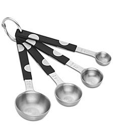All in Good Taste Deco Dot Measuring Spoon Set