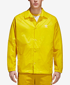 adidas Originals Men's Trefoil adicolor Coach's Jacket