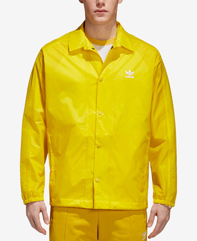 adidas Originals Men's Trefoil adicolor Coach's Jacket