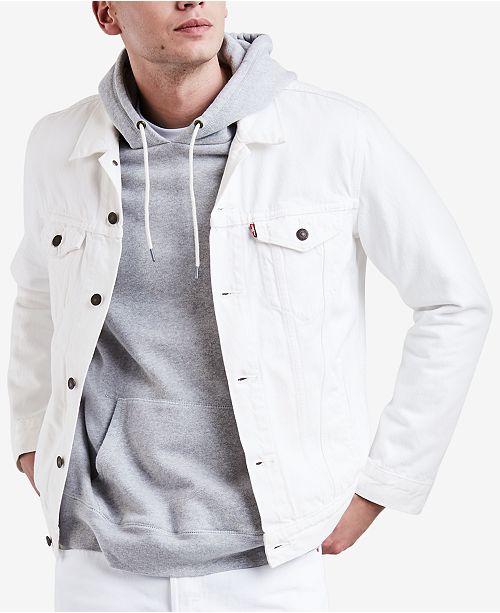 ef10176d13e Levi s Men s Denim Trucker Jacket   Reviews - Coats   Jackets - Men ...