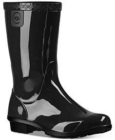 UGG® Little & Big Girls Raana Rain Boots