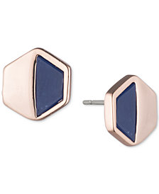 Ivanka Trump Geometric Stone Stud Earrings