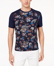Daniel Hechter Paris Men's Axel Floral-Print T-Shirt