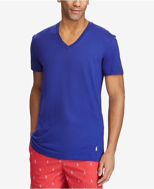 03e0a177a364 ... Polo Ralph Lauren Men s Classic Fit V-Neck T-Shirts