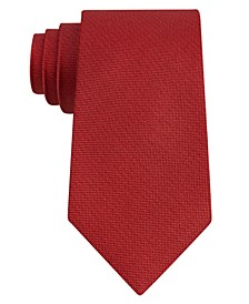 Men's Pebble Solid Silk Tie, Created for Macy's