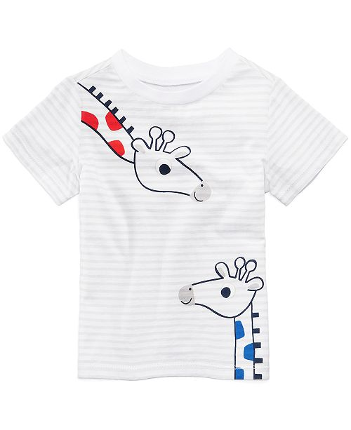 Graphic-Print T-Cotton Shirt, Baby Boys, Created for Macy's