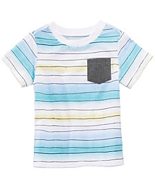 First Impressions Pocket T-Shirt, Baby Boys, Created for Macy's