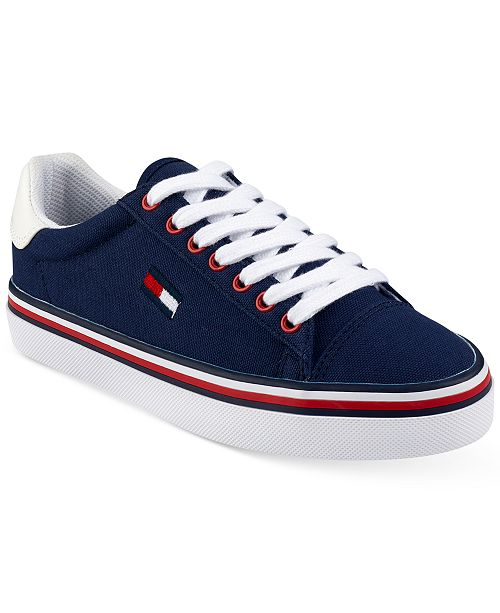 71eaf0b32b793 Tommy Hilfiger Women s Fressian Lace-Up Sneakers   Reviews ...