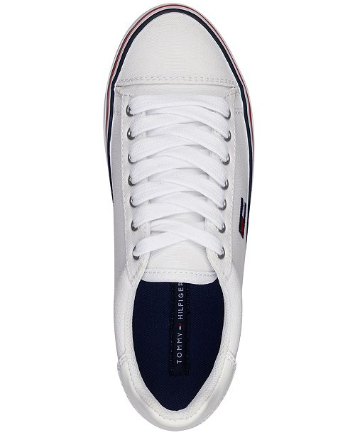 cad1c759 Tommy Hilfiger Women's Fressian Lace-Up Sneakers & Reviews ...