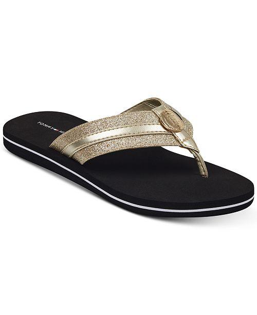 ced8926c6299 Tommy Hilfiger Capes Flip Flops   Reviews - Sandals   Flip Flops ...