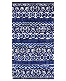 "Dena Indigo Summer 34"" x 66"" Printed Beach Towel"