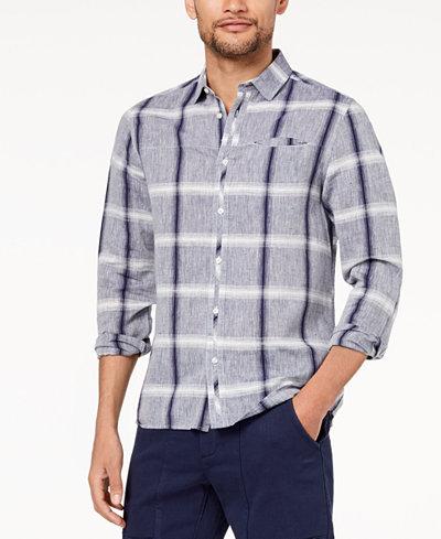 Daniel Hechter Paris Men's Andrew Plaid Shirt