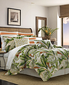 Tommy Bahama Palmiers 3-Pc. King Duvet Cover Set