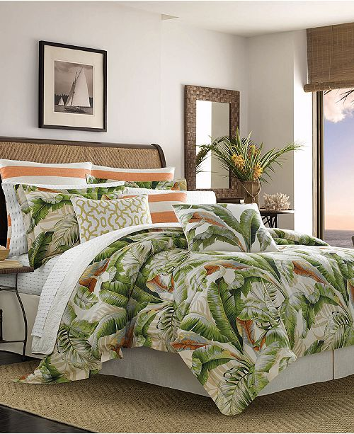 Tommy Bahama Home Tommy Bahama Palmiers 4-Pc. King Comforter Set