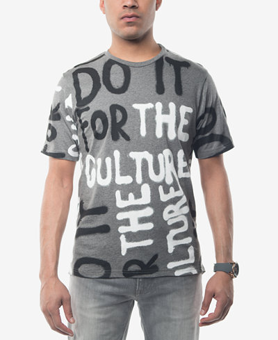 Sean John Men's Do It For The Culture Graphic-Print T-Shirt ...