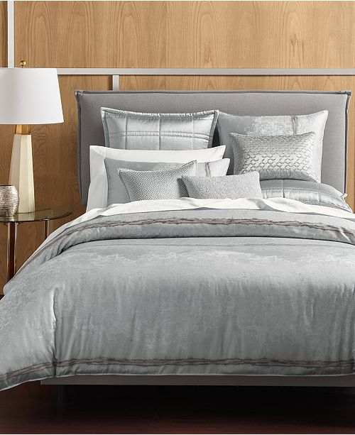 Mix And Match The Muse Bedding Collection From Hotel Featuring A Gray Neutral Tone For Ultimate In Versatility