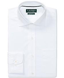 Men's Classic/Regular Fit Non-Iron Stretch Poplin Dress Shirt